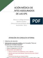 ATENCIÓN MÉDICA DE PACIENTES DE LAS EPS