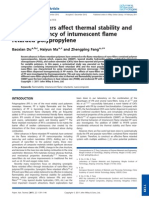 How Nano-fillers Affect Thermal Stability and Flame Retardancy of In Tumescent Flame Retarded Polypropylene