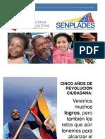 EVALUACIÓN PLAN NACIONAL DEL BUEN VIVIR 20120120