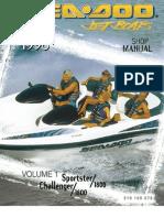 seadoo speedster 1997 workshop manual