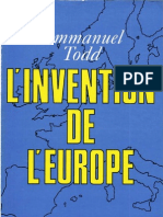 L'Invention de l'Europe