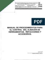 Manual de Procedimiento de Almacen