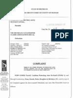 MCCA FOIA Lawsuit Filed 1-23-12