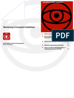 M&E Guidelines WFP