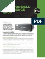 Poweredge r900 Spec Sheet Es[1]