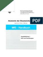 Mfs-Handbuch Anatomie Der Staatssicherheit - Die Hauptabteilung I (Nva Und Grenztruppen