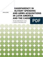 Transparency in Military Spending and Arms Acquisitions in Latin America and the Caribbean