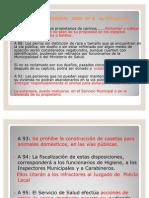 Ordenanza Municipal 2005 N° 5 de Echeverría