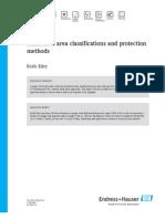 Hazardous Area Classifications and Protection - E+H