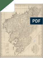 Mapa Geográfico de el Arzobispado de Santiago