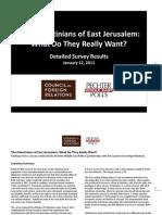 Los Pales Ti Nos de Jerusalen Oriental