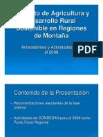 Proyecto de Agricultura y Desarrollo Rural Sostenible En