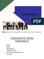 Unix Basics