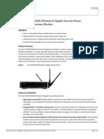 Cisco WRVS4400N Wireless-N Gigabit Security Router