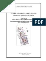 Kalmunai MC Drainage Project Report