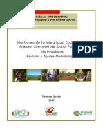 Monitoreo de Integridad Ecologica SINAPH 2007