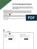 Event Mgt Web User UI