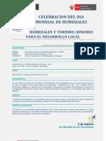 Programa Dia Mundial de Humedales