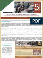 Boletín del Parque Nacional El Leoncito n.-5.2011
