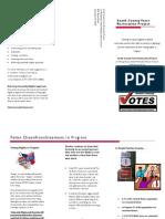 VIC-HOP Voter Restoration Pamphlet