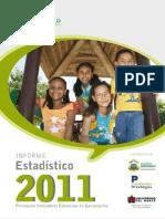 Informe Estadístico 2011, sobre la Calidad de la Educación en Barranquilla.