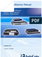 LTRT-52304 Product Reference Manual for SIP CPE Devices Ver 5.8
