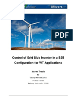 Masters Thesis for Inverter Control Using SVM