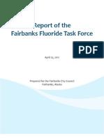 Fairbanks Fluoride Task Force Report