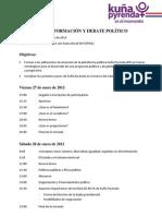 Programa 27-28 de Enero 2012
