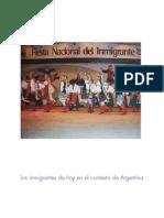 Los Inmigrantes de Hoy en El Contexto de Argentina