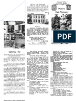 Folder Do Museu Cap Pitaluga2