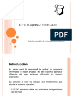 M2 UF1 7 Maquinas Virtuales