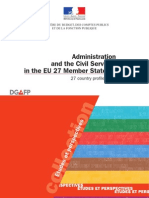 Administration and Civil Service in EU Member States