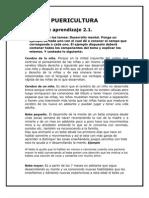Artiaga Valenzuela Maria Del Carmen. Puericultura