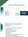 Group 4_Organization Design Fashion or Fit