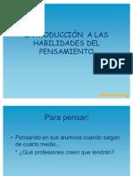 INTRODUCCIÓN  A LAS HABILIDADES DEL PENSAMIENTO[1]