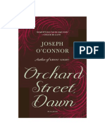 Orchard Street, Dawn, by Joseph O'Connor