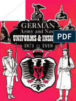 1871 German Army Navy Uniforms Insignia