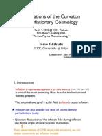 Tomo Takahashi- Implications of the Curvaton on Inflationary Cosmology