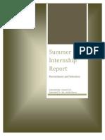 TAJ Summer Internship Report
