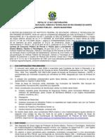 Edital 37 2011 Docente Vagas Com Prova Pratica