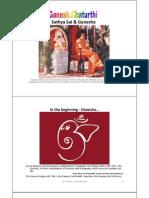 Sathya Sai & Ganesha