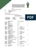 Universidad Mayor de San Andres - Ingenieria Geologica
