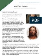 Hubpages.com-God Jesus New World Faith Humanity