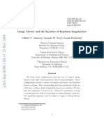 Clifford V. Johnson et al- Gauge Theory and the Excision of Repulson Singularities