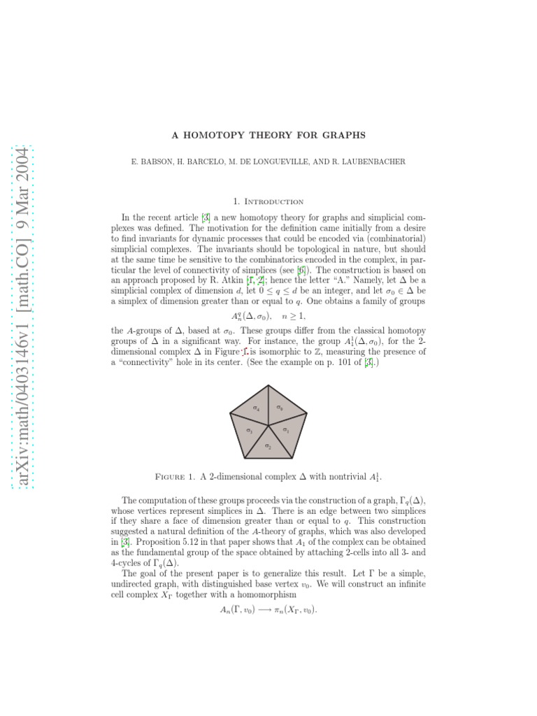 A Homotopy Theory For Graphs