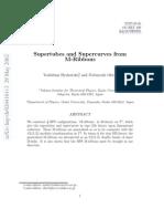 Yoshifumi Hyakutake and Nobuyoshi Ohta- Supertubes and Supercurves from M-Ribbons
