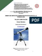 Análisis de Objeto Técnico El Telescopio
