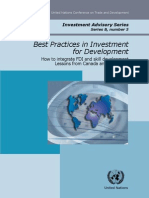 Best Practices in Investments for Development Singapore)
