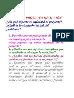 MAPEA TU PROYECTO DE ACCIÓN